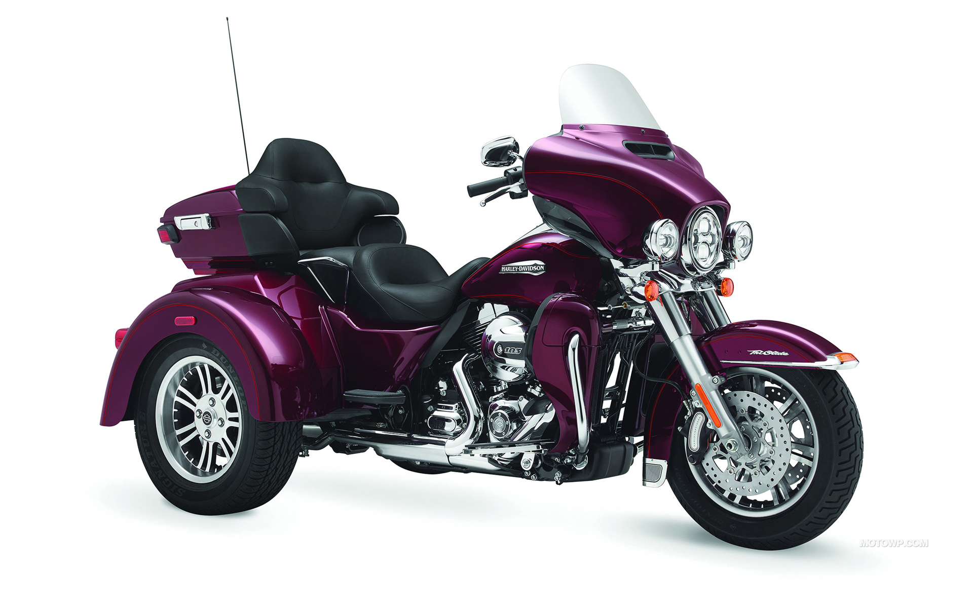 Tri Glide Wallpaper: Motorcycles Desktop Wallpapers Harley-Davidson Trike Tri
