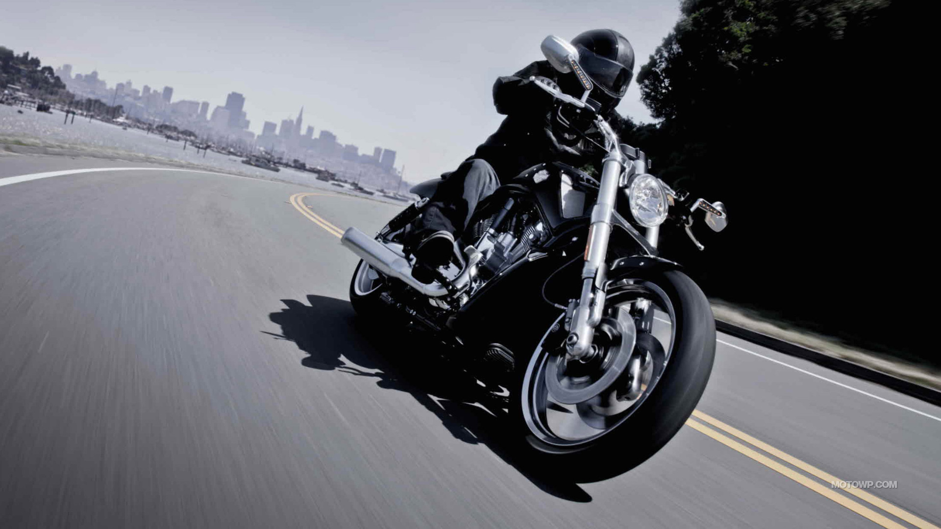 Motorcycles Desktop Wallpapers Harley Davidson V Rod Night Rod Special 2012